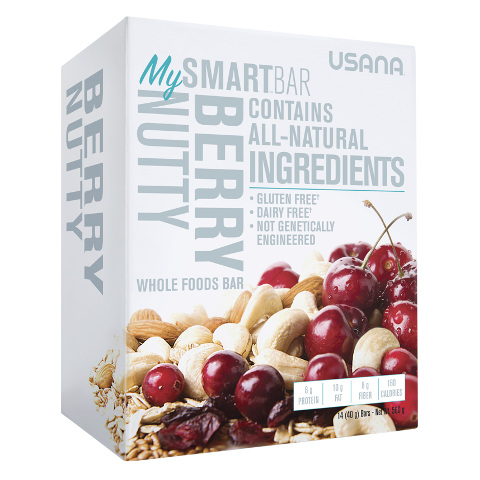 USANA MySmartBar Berry Nutty - Protein Bar